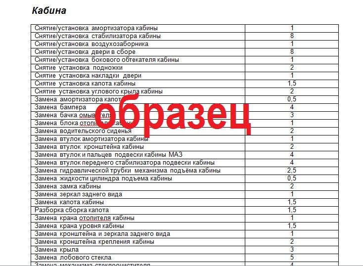 Прейскурант Цен Образец Рб - фото 3